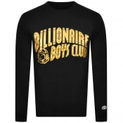 Product Image for Billionaire Boys Glitter Sweatshirt Black Gold