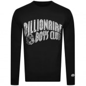 Product Image for Billionaire Boys Glitter Sweatshirt Black Silver