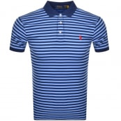 Product Image for Ralph Lauren Slim Fit Polo T Shirt Blue