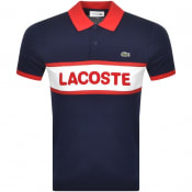 Product Image for Lacoste Sport Short Sleeved Polo T Shirt Navy