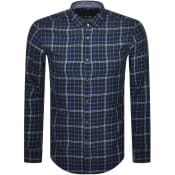 Product Image for BOSS Rikard Check Shirt Blue