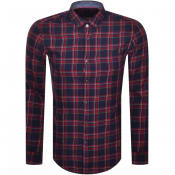 Product Image for BOSS Rikard Check Shirt Red