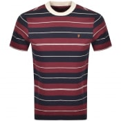 Product Image for Farah Vintage Alfred T Shirt Burgundy