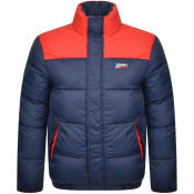 Product Image for Tommy Jeans Corp Puffa Jacket Navy