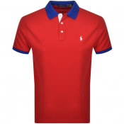 Product Image for Ralph Lauren Basic Mesh Polo T Shirt Red