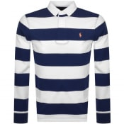 Product Image for Ralph Lauren Long Sleeve Rugby Polo T Shirt Blue