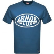 Product Image for Armor Lux Heritage Serigraphy T Shirt Blue