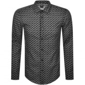 Product Image for BOSS Ronni Long Sleeved Shirt Black