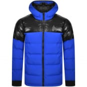 Product Image for Money Padded Logo Jacket Blue