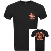 Product Image for Deus Ex Machina Devil Canggu Logo T Shirt Black