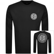 Product Image for Deus Ex Machina Long Sleeved Pill T Shirt Black