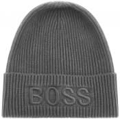 Product Image for BOSS Afibox Beanie Hat Grey
