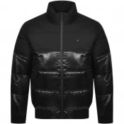 Product Image for Calvin Klein Jeans Puffer Logo Jacket Black