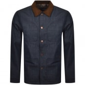 Product Image for Nudie Jeans Barney Worker Jacket Blue