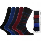 Product Image for BOSS Five Pack Socks Gift Set
