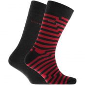 Product Image for BOSS Two Pack Socks Grey