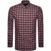 Product Image for Fred Perry Gingham Check Shirt Red