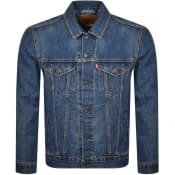 Product Image for Levis Denim Trucker Jacket Blue
