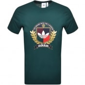 Product Image for adidas Originals Collegiate Crest T Shirt Green