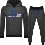 Product Image for BOSS Bodywear Lounge Logo Tracksuit Grey