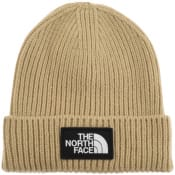 Product Image for The North Face Logo Beanie Hat Khaki