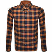 Product Image for Pretty Green Standards Check Shirt Orange