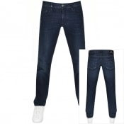 Product Image for Armani Exchange J16 Straight Fit Jeans Navy