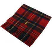 Product Image for Ralph Lauren Wool Scarf Red