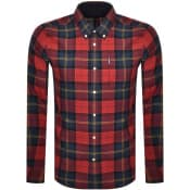 Product Image for Barbour Tartan 9 Check Shirt Red