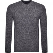 Product Image for Barbour Sid Crew Neck Knit Jumper Navy