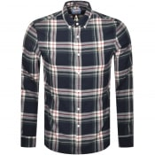 Product Image for Farah Vintage Krone Check Shirt Navy