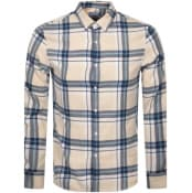 Product Image for Farah Vintage Krone Check Shirt Cream