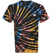 Product Image for Nike Tie Dye T Shirt Black