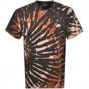 Product Image for Nike Tie Dye T Shirt Green