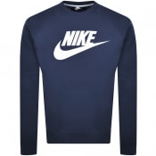 Product Image for Nike Crew Neck Modern Sweatshirt Navy