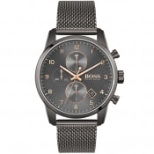 Product Image for BOSS 1513837 Skymaster Watch Grey