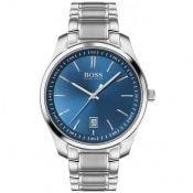 Product Image for BOSS 1513731 Master Watch Silver