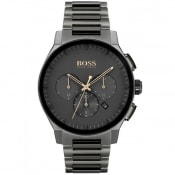 Product Image for BOSS 1513814 Peak Watch Black