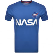 Product Image for Alpha Industries Nasa Reflective T Shirt Blue