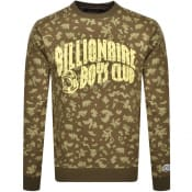 Product Image for Billionaire Boys Club Print Sweatshirt Green