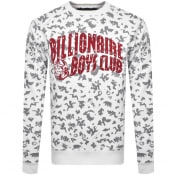 Product Image for Billionaire Boys Club Print Sweatshirt White