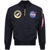 Product Image for Alpha Industries MA 1 VF NASA Flight Jacket Navy
