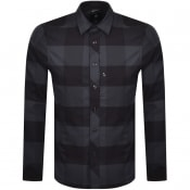 Product Image for G Star Raw Checked Long Sleeved Shirt Blue