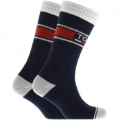 Product Image for Tommy Jeans Two Pack Socks Navy