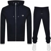 Product Image for Fred Perry Logo Tracksuit Navy