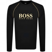 Product Image for BOSS Bodywear Logo Sweatshirt Black