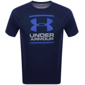 Product Image for Under Armour Foundation Logo T Shirt Navy