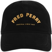 Product Image for Fred Perry Corduroy Logo Cap Black