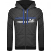 Product Image for BOSS Bodywear Lounge Full Zip Hoodie Grey