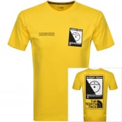 Product Image for The North Face Steep Tech T Shirt Yellow
